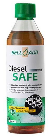 Land Rover Bell Add Diesel Safe - 869528