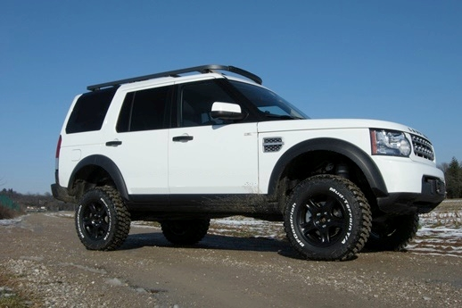 "Land Rover Discovery +5"" undervogns kit"