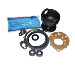 Land Rover swivel krom kugle reparations kit med 12 mm swivel pakdåse for Range Rover Classic & Discovery 1
