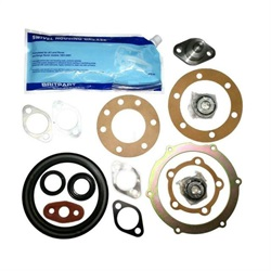 Land Rover swivel krom kugle reparations kit for Range Rover Classic & Discovery 1 med ABS bremser - Uden swivel kugle