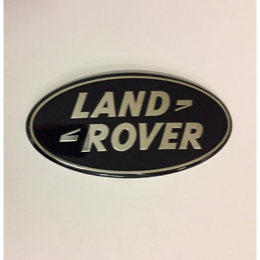 "Land Rover ""Land Rover"" badge for front grillen på Discovery 4 - Sort med guld"