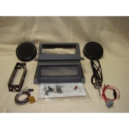 Land Rover Defender radio montage kit komplet