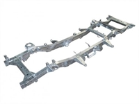 Land Rover Discovery 2 galvaniseret chassisramme - Td5 model