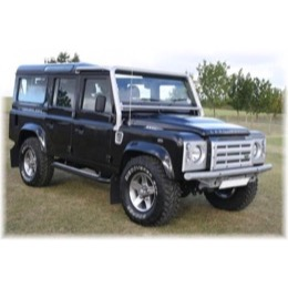 Land Rover Defender Heavy Duty rørkofanger - for modeler med aircondition