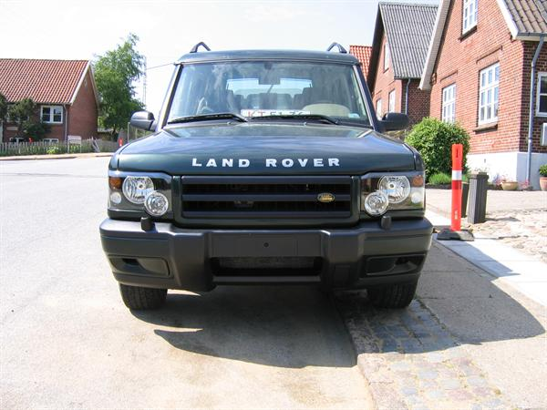 Land Rover forlygte panel til montage under lygte for Discovery 2 model 2002 og frem - venstre