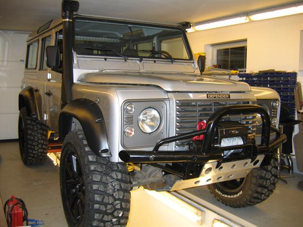 "Land Rover Defender 90"" frem til 1994 +2"" undervogns kit"