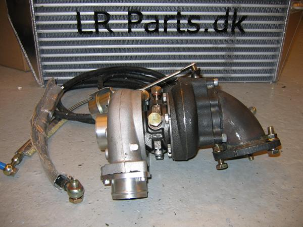Vandkølet hybrid turbo kit for Td5