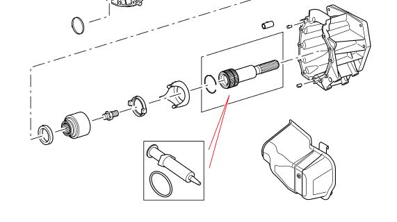 Lige ud O-ring sæt med montage pasta - IYX500050. Land Rover webshop med EV46