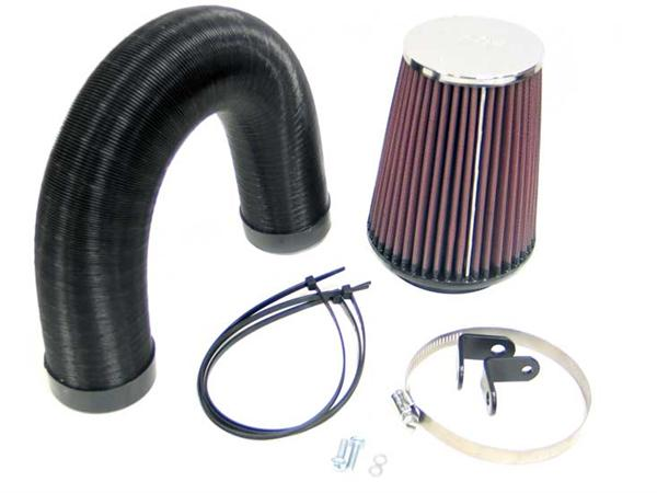 Land Rover V8 EFI cold air induction kit for Defender, Range Rover Classic samt Discovery 1 med V8 indsprøjtnings motor