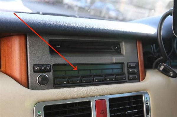 Land Rover LCD reparations sæt for Range Rover L322 MID Headunit