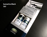 "Land Rover maling ""Touch Up"" - Sumatra Black - LRC797"