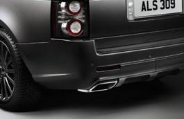 Land Rover bagkofanger afgangs kit for Range Rover fra 2010 til 2012 - Body kit model