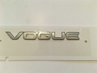 "Land Rover ""VOGUE"" skilt for Range Rover L405"