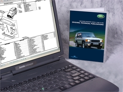 Land Rover Discovery 2 værksteds manual LTP3006
