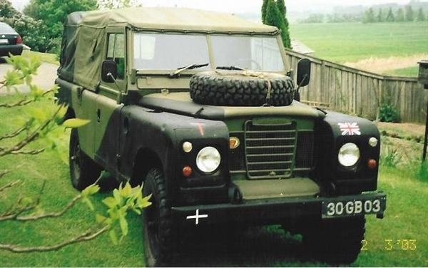 Land Rover forrude for Serie 2 og 3
