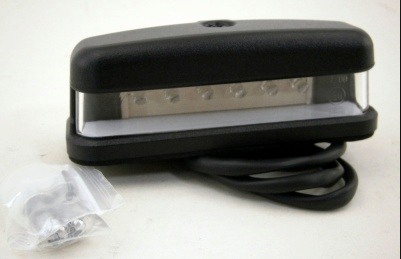 Land Rover LED nummerpladelys lygte for Serie 2, Serie 3 & Defender - XFC1005500LED