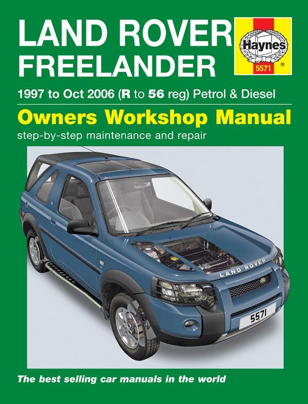Land Rover værksteds manual for Freelander 1 modellen fra 1997 frem til 2006 - DA4565