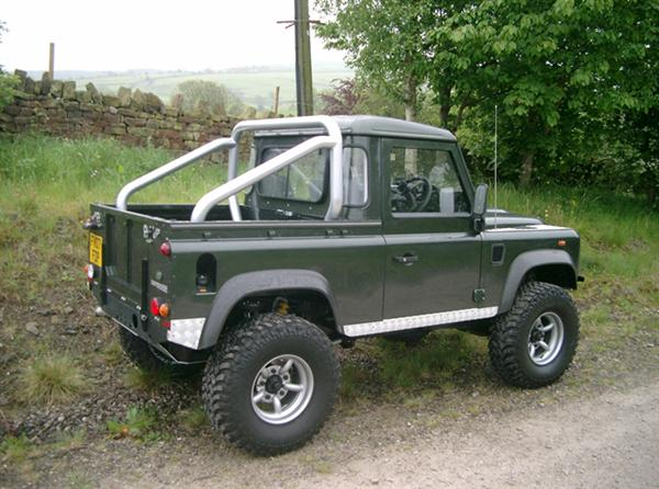 Land Rover Defender 200 Tdi Stage II upgrade