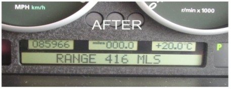 Land Rover LCD reparations sæt for Range Rover L322 speedometer