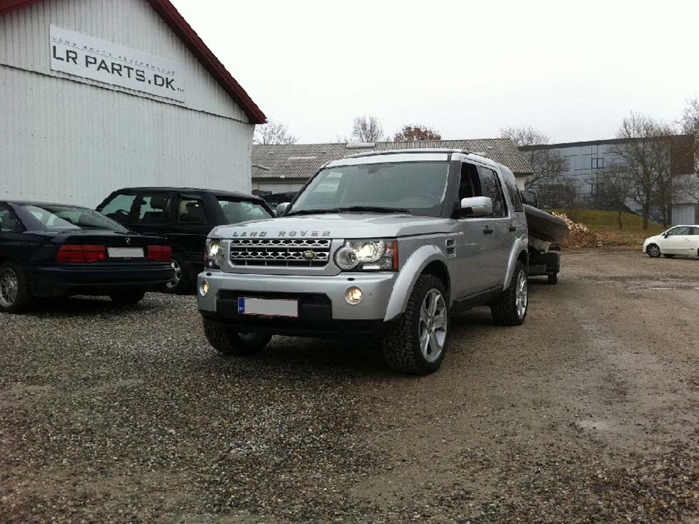 Discovery 3 med vores Discovery 4 facelift