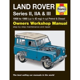 Land Rover Serie 2, 2A & 3 Haynes manual