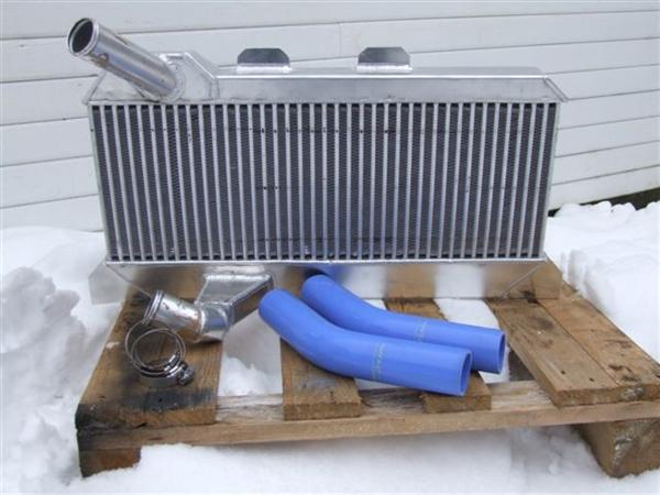 Land Rover Defender 200 Tdi / 300 Tdi Stage II race spec. intercooler kit
